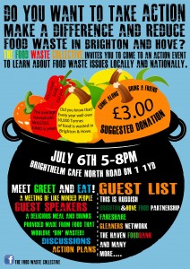 food waste collective event poster