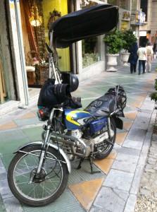 Covered Bike