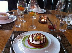 Dessert at Darwin